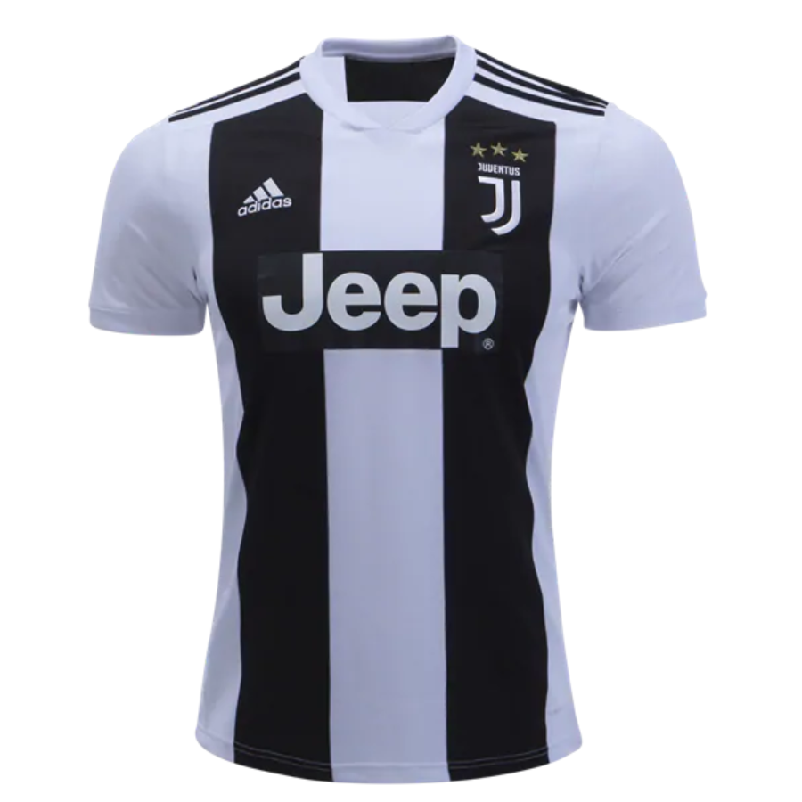 b5d7641fe3b Juventus 18 19 Home Men Soccer Jersey Personalized Name and Number ...
