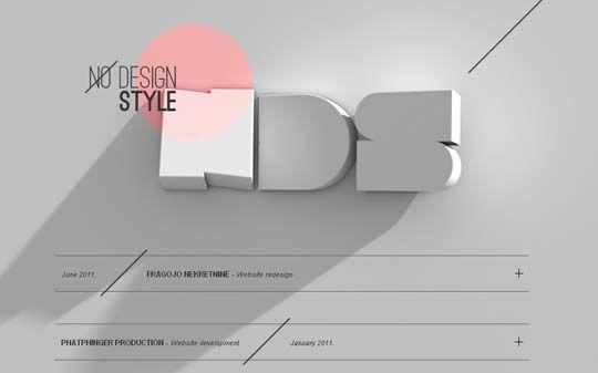 45 Fresh And Inspiring Examples Of Big Typography In Web Design Web Development Design Design Web Design