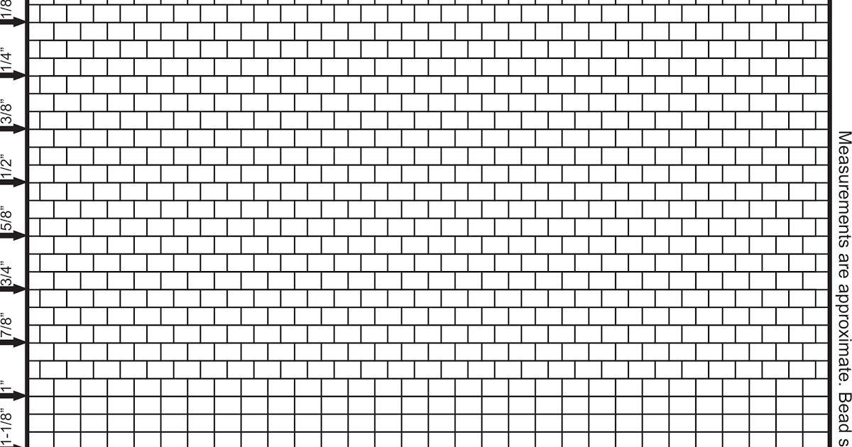 Print Graphing Paper Beading Pattern Design Sheet Pattern Sheet Beading Tutorial Fringe  2 Drop Brick Stitch Beading Graph Paper