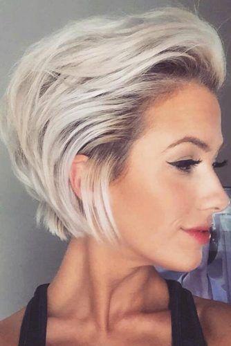 Peinados súper lindos y claros para cabello corto # peinados # cortos # impresionantes