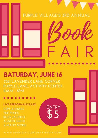 Book Sale Flyer Template Free