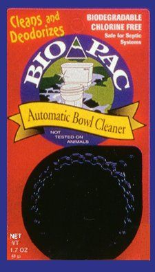 Biopac Automatic Bowl Cleaner Is Chlorine Free And Safe For Septic Systems Our Long Lasting