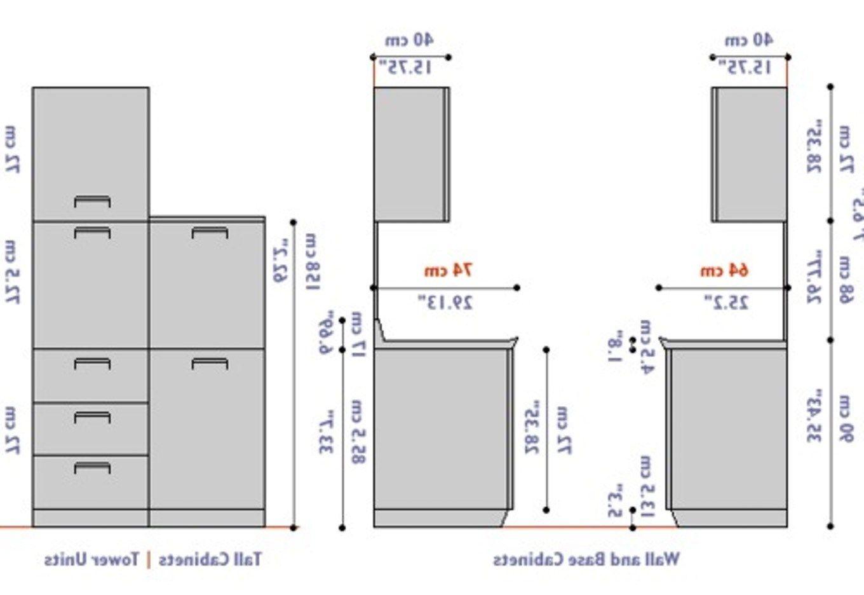 Küche Schrank Abmessungen - Küchenschrank Maße – Ein gemütliches