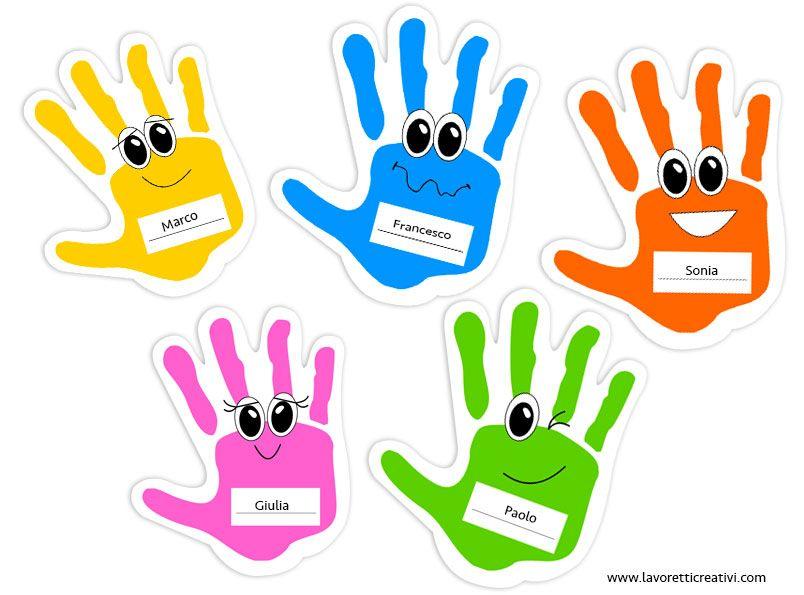 Accoglienza scuola primaria e dell infanzia mani for Addobbi aula scuola primaria accoglienza
