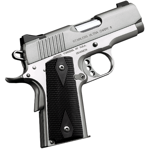 Kimber 1911 Stainless Ultra Carry II - A hallmark of Kimber