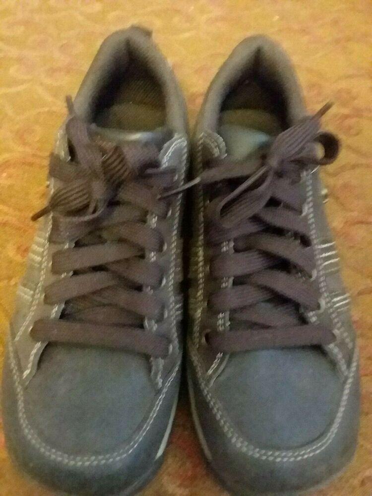 Skechers Womens HikingWalking Leather Oxford Shoes SN46397