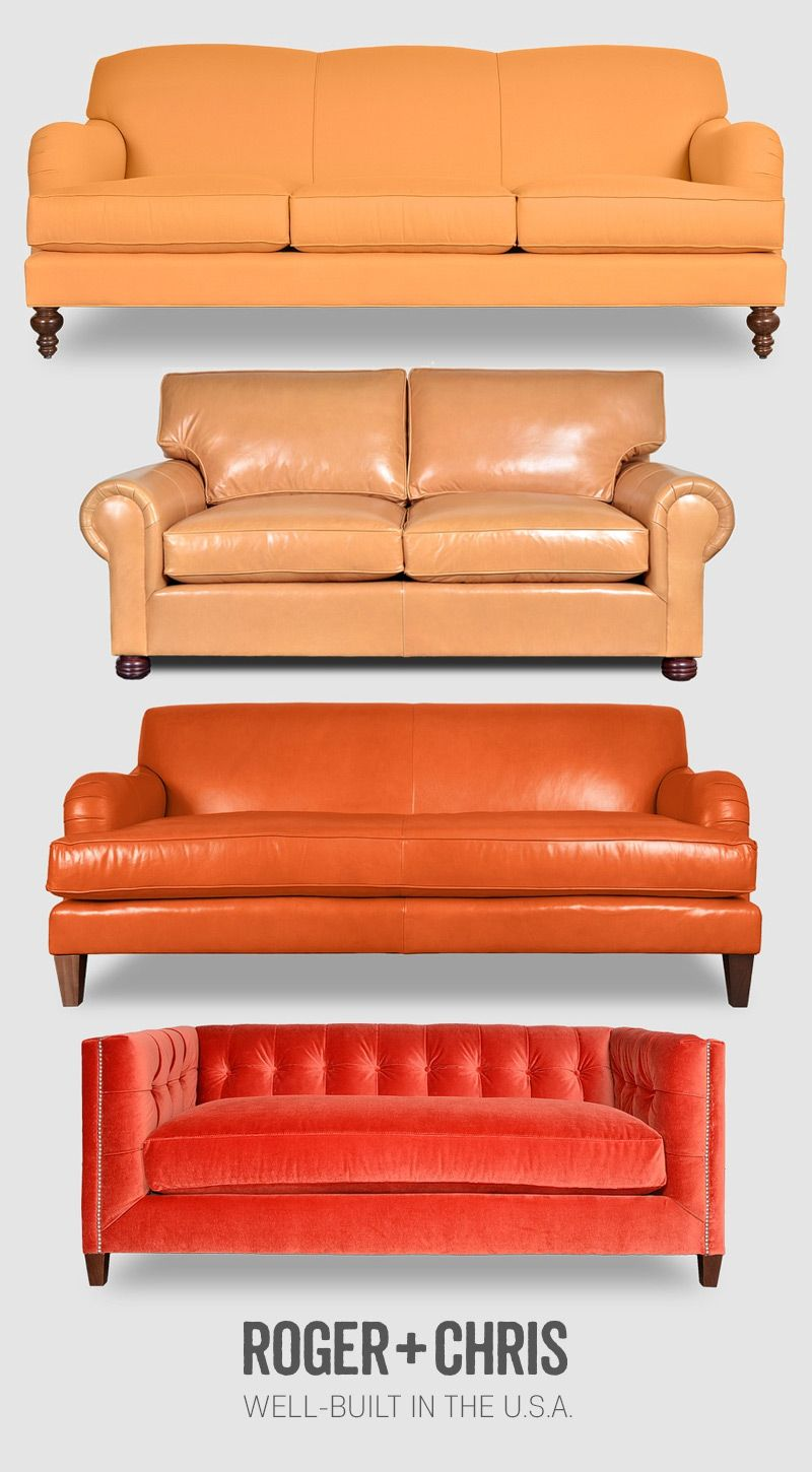 Sessel Carolina Orange Sofas Orange Chesterfields Orange Couches Orange Velvet