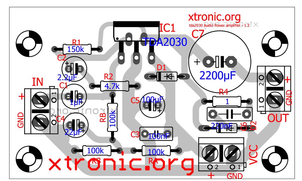 Outstanding Tda2030 Comp 700X421 Power Amplifier Circuits Automotive Auto Audio Wiring Digital Resources Funapmognl