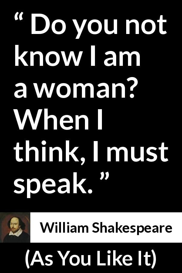 William Shakespeare About Women As You Like It 1623