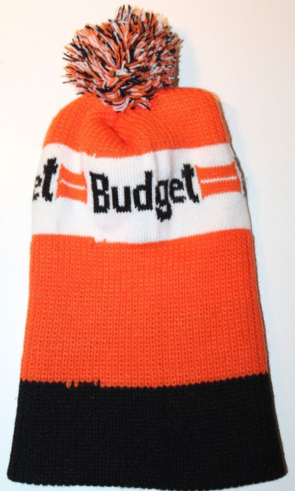 d54e852bd70 Budget Rent-A-Car Vintage Toque Winter Hat Made In Canada  PromoWearLtd   Toque