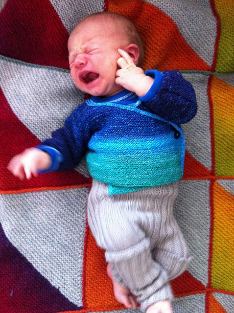 This has to be one of the BEST crying baby photos anywhere!!