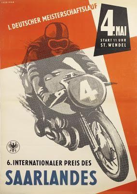 Vintage Motorcycle Art # 4