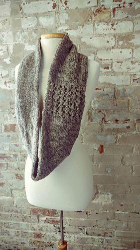 Snow Shower Cowl pattern by Kirsten Hipsky | Stricken und häkeln ...
