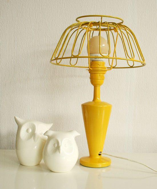 Diy Fruit Bowl Lamp Lampen Idee