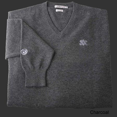 Scotty Cameron V Neck Cashmere SC Diamond Sweaters : FairwayGolfUSA.com