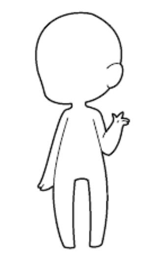 Chibi base | Desenhos de chibi, Desenho a lápis inspiração ...