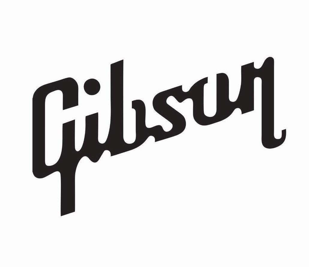 Gibson Guitar Music Vinyl Die Cut Car Decal Sticker FREE SHIPPING