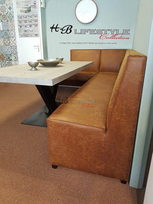 Eetkamer hoekbank op maat - HB Lifestyle Collection Model: Mondiaal ...