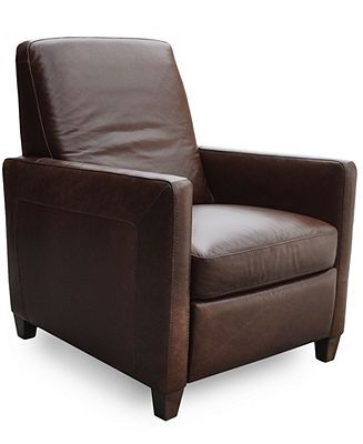 Swell Enzo Leather Recliner Chair Furniture Macys Furniture Machost Co Dining Chair Design Ideas Machostcouk