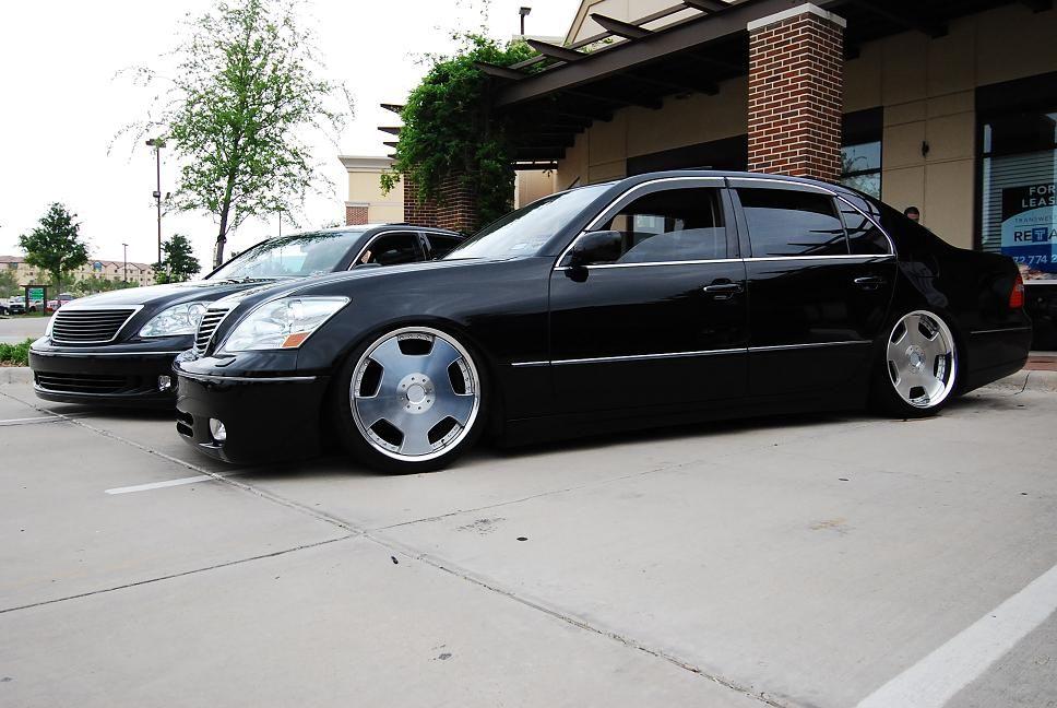 Photo 1 Lexus Ls 430 Custom Wheels Work Euroline Dz 20x9 0 Et 38 Tire Size 245 35 R20 20x10 0 Et 44 255 35 R20 Lexus Ls Lexus Custom Wheels