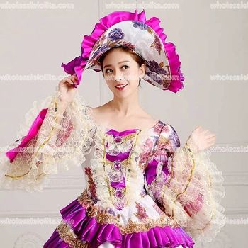 7cbd08a247107 HOT!! Global FreeShipping 18th Century Marie Antoinette Belle Dress ...