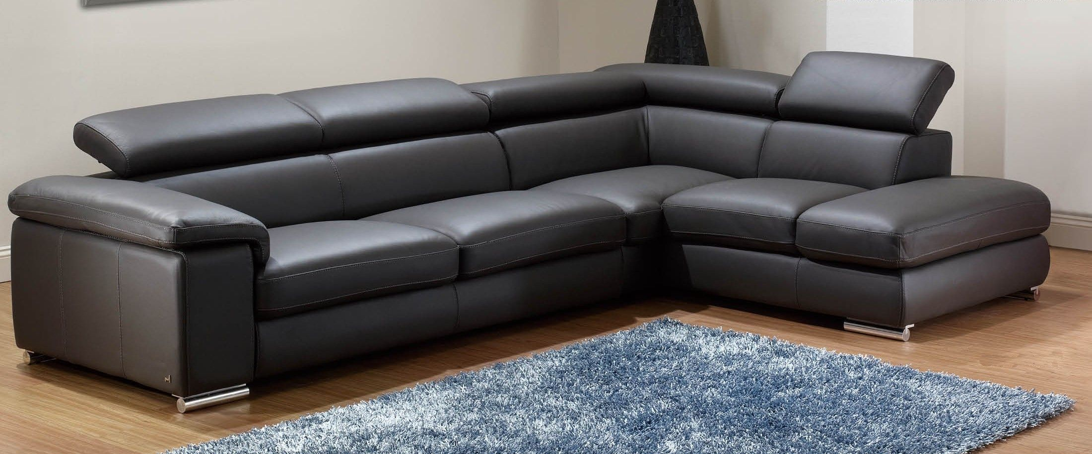 awesome Modern Leather Sectional Sofa Epic Modern Leather