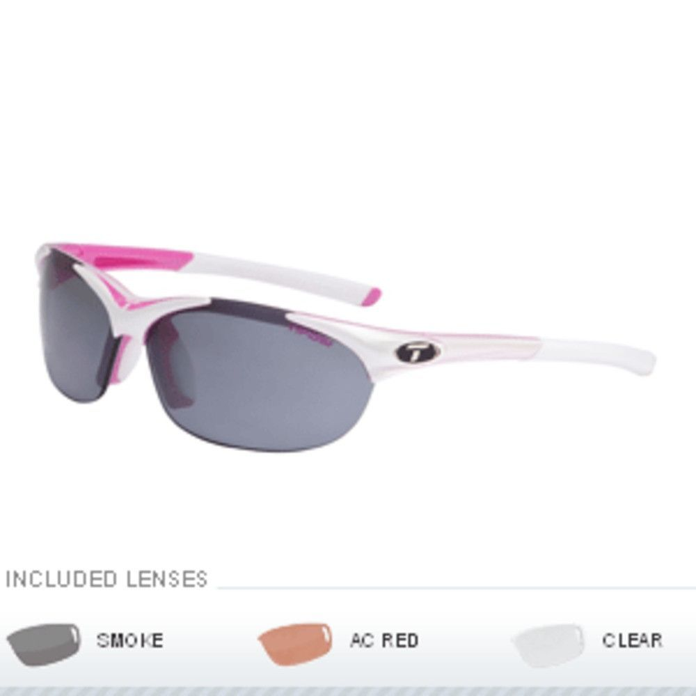 10fdcbc62670a Tifosi Wisp Interchangeable Lens Sunglasses - Race Pink