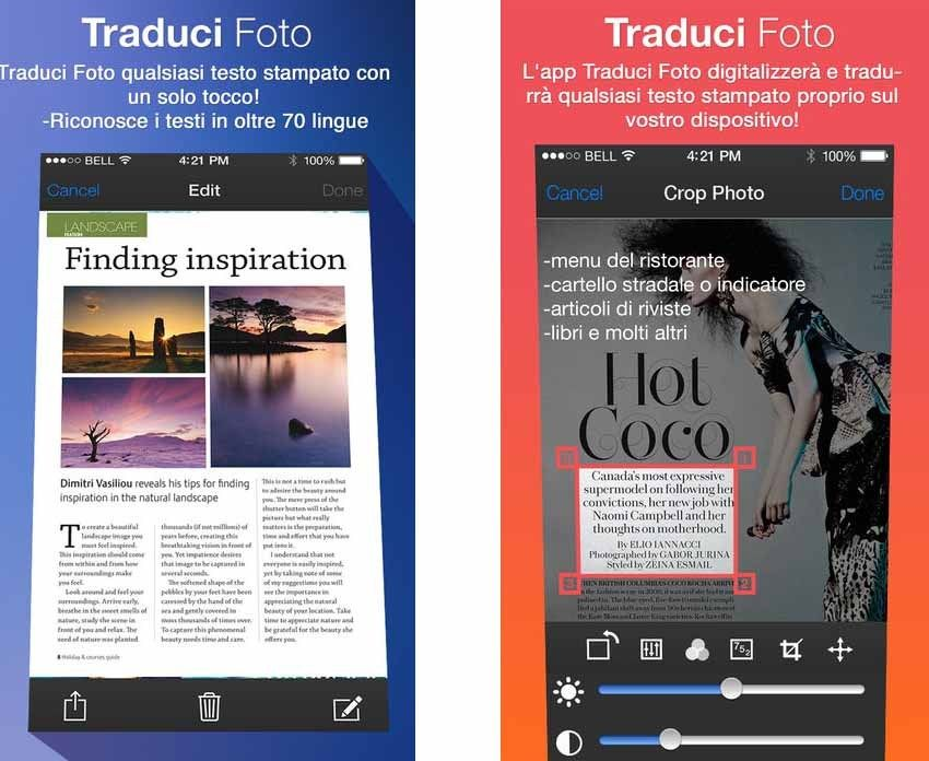Traduci Foto Cam Scanner Ocr E Traduttore Oggi In Offerta Gratuita App Foto Scanner