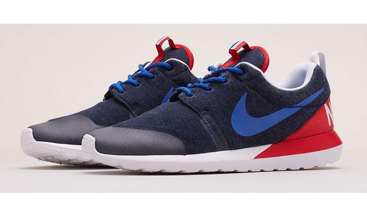 Nike Roshe Courir 2014 Stands De Nuit Noire