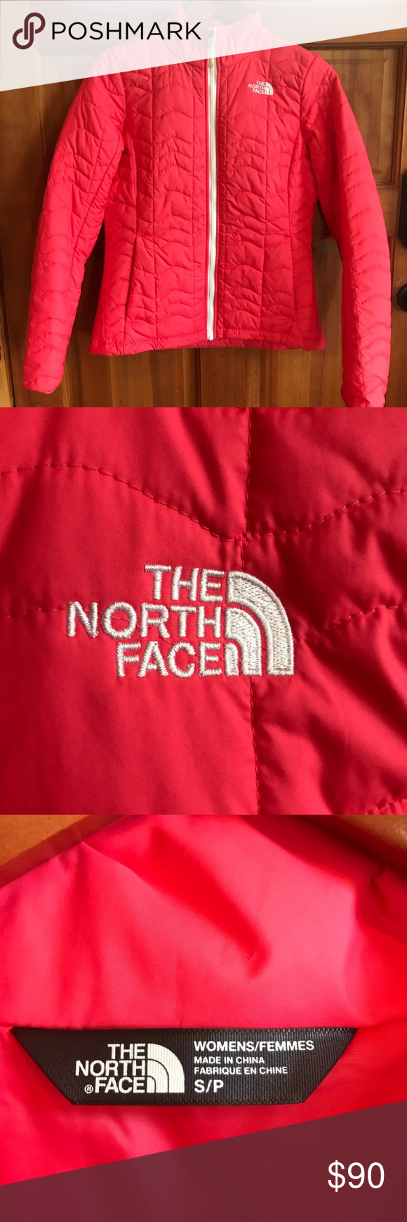 Size S Hot Pink North Face Puffer Jacket This Jacket Is A True Hot Pink The Zipper Is White As Well North Face Puffer Jacket Pink North Face Clothes Design [ 1740 x 580 Pixel ]