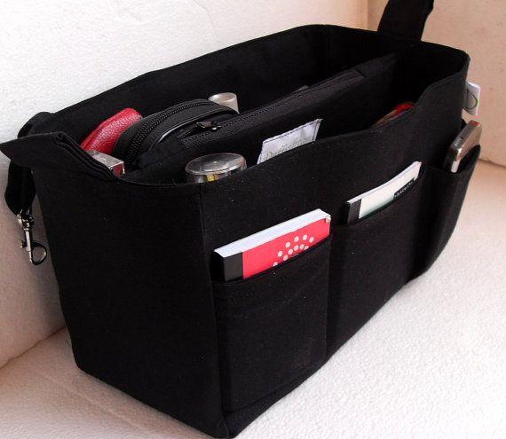 Large Bag Organizer Purse Insert In By Daffysdream 39 50