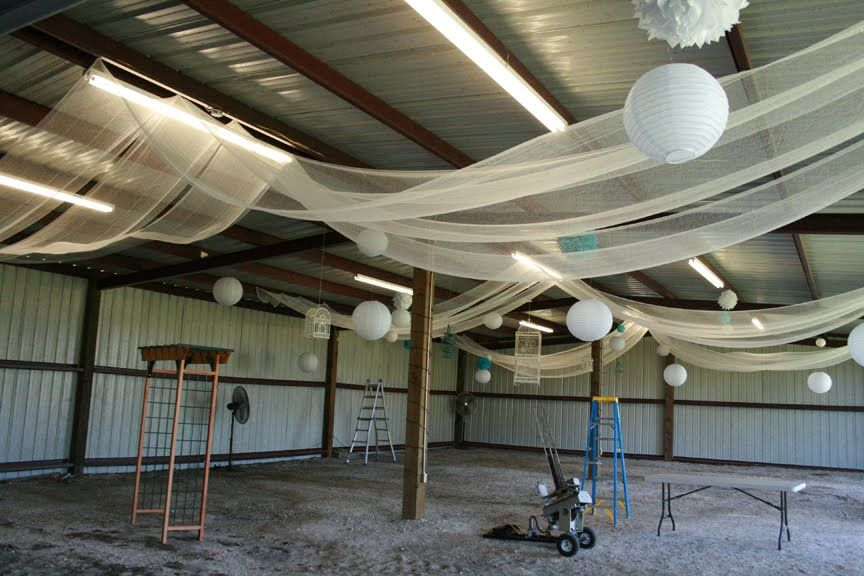 Cheesecloth wedding decor. Cheaper than Tulle! Just as ...