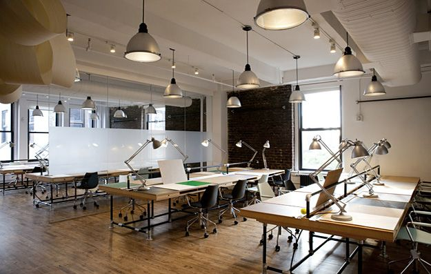 Studio Space Design nyc design school converts to coworking space in the summer