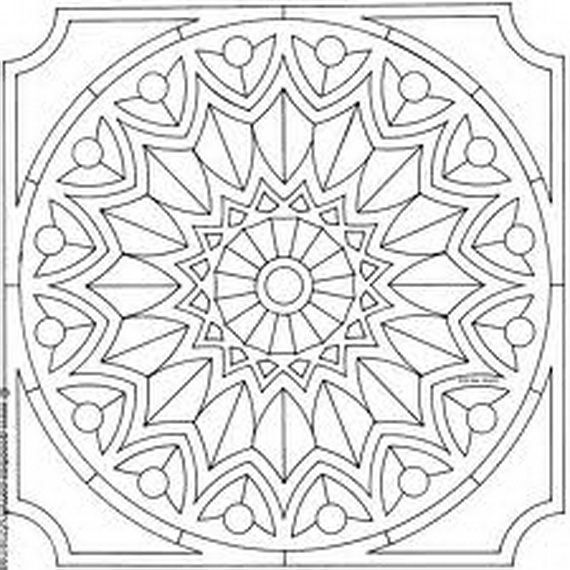 Arabic tiles coloring pages Google