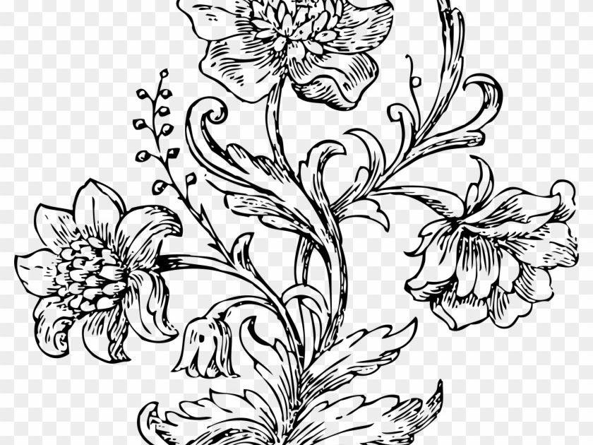 Terbaru 16 Gambar Dekoratif Bunga Hitam Putih Gambar Vas Bunga Hitam Putih Ayo Mewarnai Boboiboy Blog Teraktual Big Image Gambar Gambar Cat Air Bunga Bunga