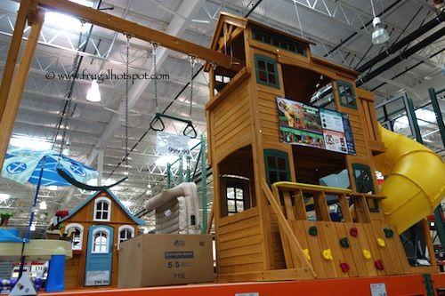 Cedar Summit Clarington Resort Play Set Costco Frugalhotspot