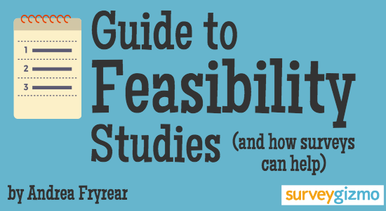 Guide To Feasibility Studies Mpg Pinterest Proposal Templates