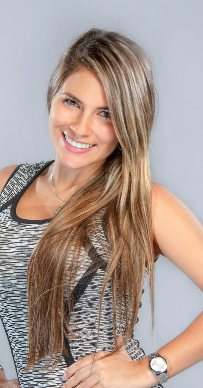 A Lovely Hair Color For The Summer Hair Hairextensions Beauty