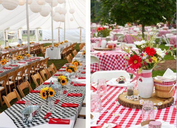 Manteles de cuadros para una boda picnic picnics mantel - Tipos de manteles ...