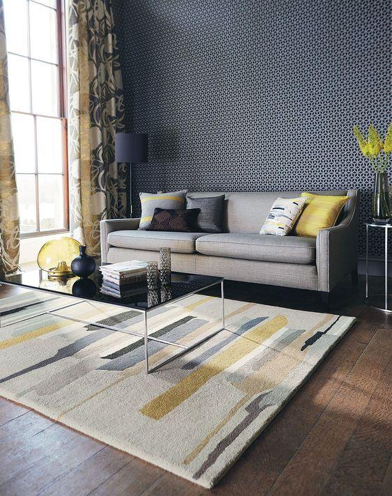 26 Stylish Living Room Rug Ideas to Impress Oh Cozy Nest