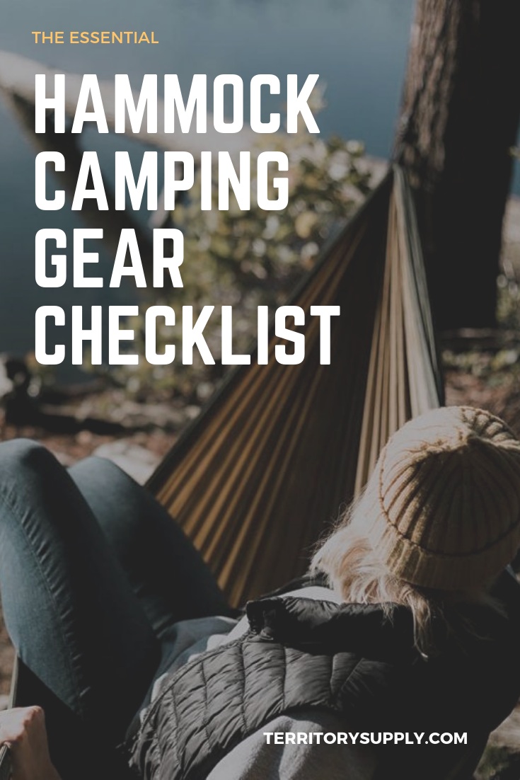 Photo of The Ultimate Hammock Camping Gear Checklist