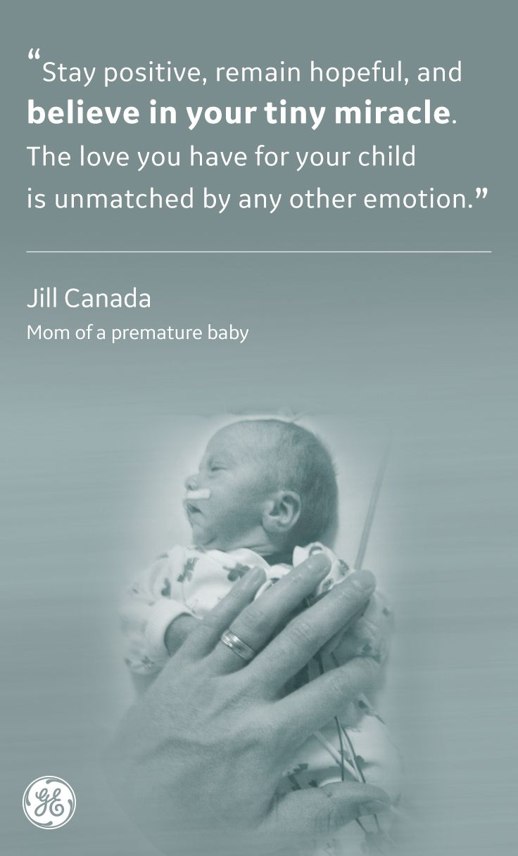 Jill Canada Is One Of Many Who Has Experienced Prematurity And Is
