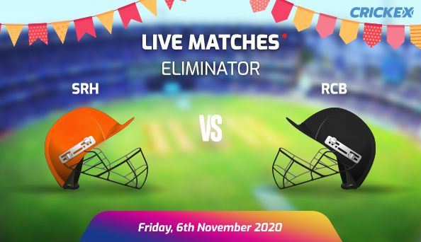 IPL 2020  SRH VS RCB | Eliminator | Preview