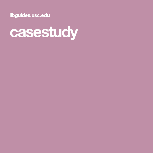 Case study research sample papers
