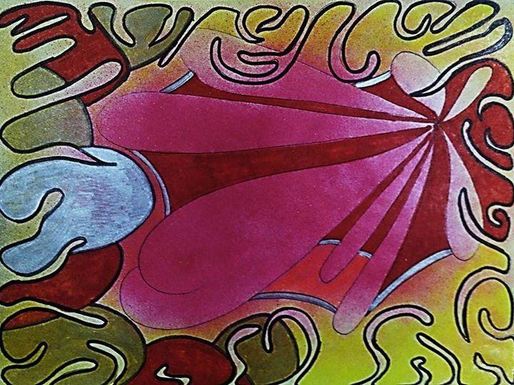 LUNA 27 - JUAN GOMY - Paintings & Prints Abstract Color - ArtPal | ArtPal thumbnail