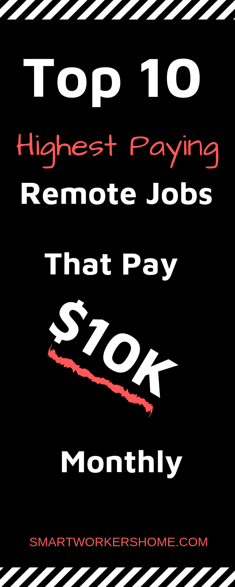 These are jobs that pay you more than or slightly less