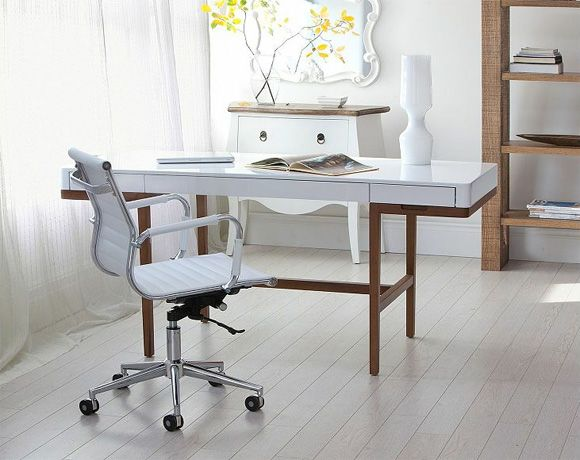 Two Affordable Home Office Desks With A Vintage Vibe At Kim Vallee