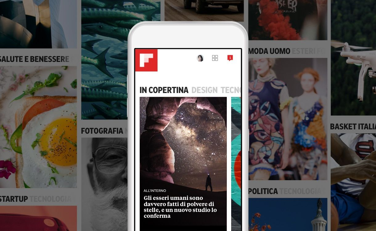 La nuova edizione di Flipboard è organizzata intorno ai tuoi interessi