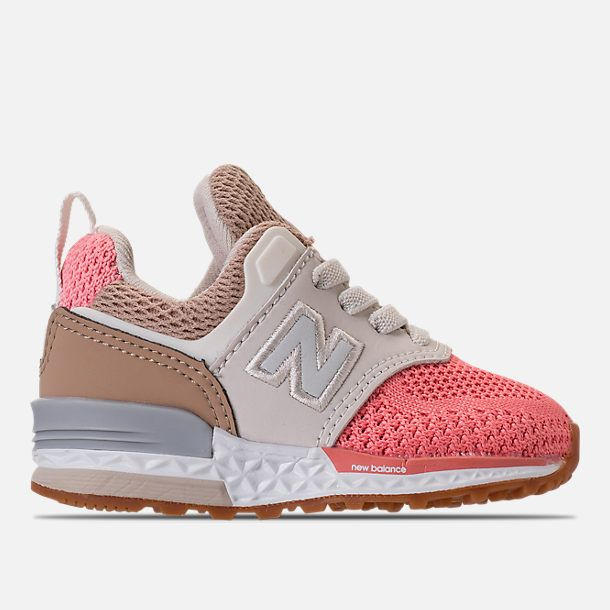 f8b8d99a Right view of Girls' Toddler New Balance 574 Sport Casual Shoes in  Hemp/Dusted