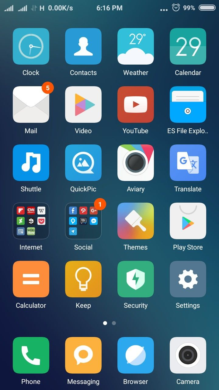 Settled for MIUI launcher cos I forced to wipe everything
